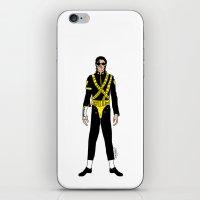 Dangerous Jackson on White iPhone & iPod Skin