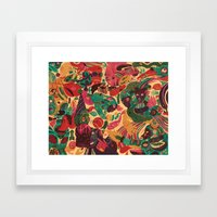 Sense Improvisation Framed Art Print