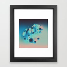 VIOLATED (09.08.15) Framed Art Print