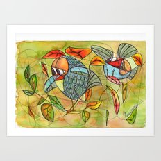 nice place to lay an egg!! Art Print