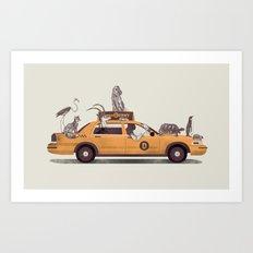 1-800-TAXIDERMY Art Print
