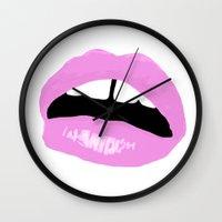 Lipsies Wall Clock