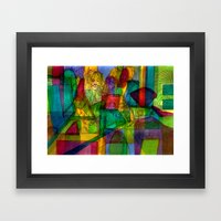Bojhow Framed Art Print