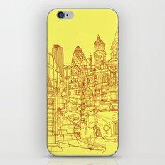 London! Yellow/Red iPhone & iPod Skin