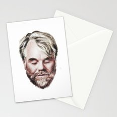Philip Seymour Hoffman Portrait Stationery Cards