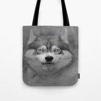 Husky  Tote Bag