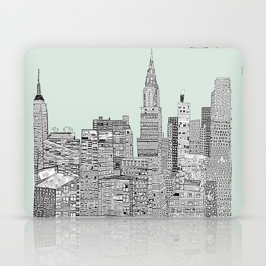 New York vintage  Laptop & iPad Skin