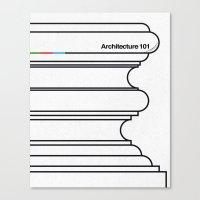 Architecture 101 Canvas Print