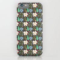 Fun Floral Pattern iPhone 6 Slim Case