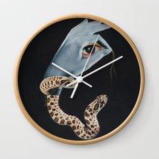 All seeing eye I. Wall Clock