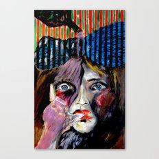 Thumb Sucker Canvas Print