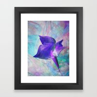 A Little Flower Framed Art Print