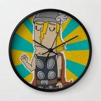 004_thor Wall Clock