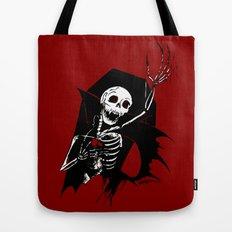 Death of Dracula Tote Bag