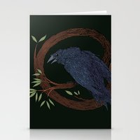 Raven  Stationery Cards