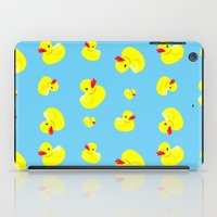 Rubber Duck Pattern iPad Case