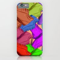 shoes iPhone & iPod Cases featuring shoes by ErsanYagiz