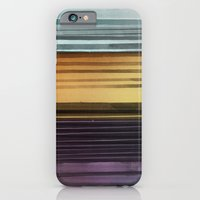 iPhone & iPod Case featuring Amanda Wants Stripes by Monty