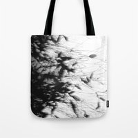 Dark Rain Tote Bag