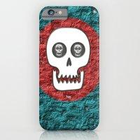 Skull Poppy iPhone 6 Slim Case