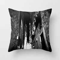 Midnight in Dubrovnik 01 Throw Pillow