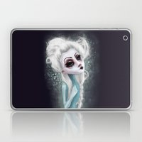 black cold surrounds me Laptop & iPad Skin