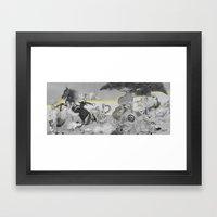 Garden Feast Framed Art Print