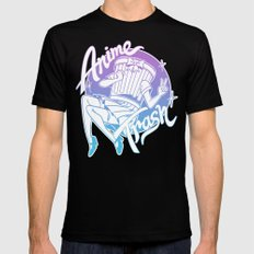 Anime Trash - Pastel Edition Mens Fitted Tee Black SMALL