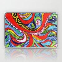 Tentacles 1 Laptop & iPad Skin
