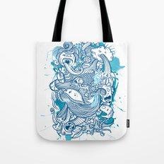 Random Doodle Tote Bag