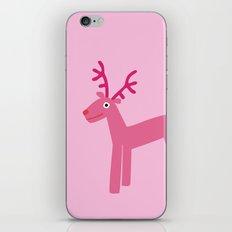 Reindeer-Pink iPhone & iPod Skin