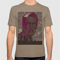 Cool Hand Luke Mens Fitted Tee Tri-Coffee SMALL