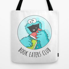 Book Monster Tote Bag