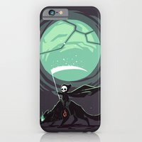 iPhone & iPod Case featuring Little Reaper by Freeminds