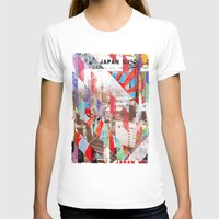 japan T-shirts featuring Japan by Stylegrafico
