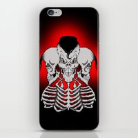 Psychobilly X 3 iPhone & iPod Skin