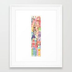 London Towers Framed Art Print