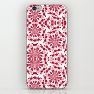 Vintage Two Red iPhone & iPod Skin