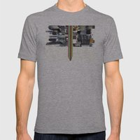The Invisible Cities (d… Mens Fitted Tee Athletic Grey SMALL
