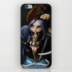 LADY BUCCANEER PIRATE OOAK BLYTHE ART DOLL iPhone & iPod Skin