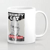 GRUMPY AS THE CAT  Mug
