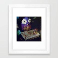 kn-owl-edge Framed Art Print
