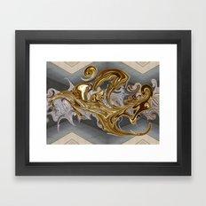Brass Beast Framed Art Print