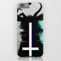 cross iPhone & iPod Cases featuring cross by s a Lieske