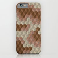 iPhone & iPod Case featuring CUBOUFLAGE DESERT by Oreezy
