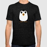 Penguin Mens Fitted Tee Tri-Black SMALL