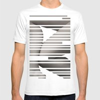 skin layout Mens Fitted Tee White SMALL