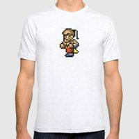 Final Fantasy II - Yang Mens Fitted Tee Ash Grey SMALL