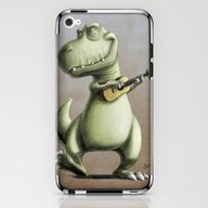 Rockin' Out With A Ukele… iPhone & iPod Skin