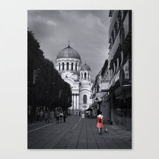 When In Lithuania Canvas Print